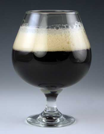 snifter beer glass